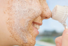 Esfoliante para pele