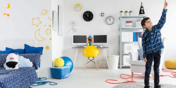 Decoração do quarto para filho