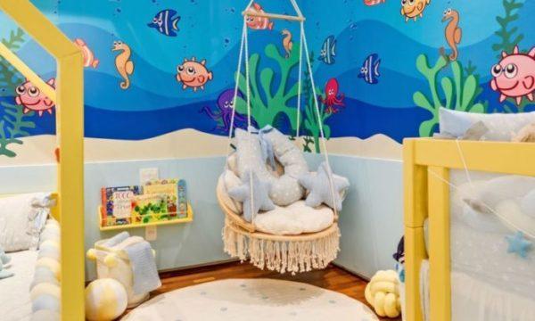 decoração tematica para quarto de menino quarto maritimo