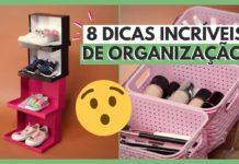 8 passos para organizar a casa