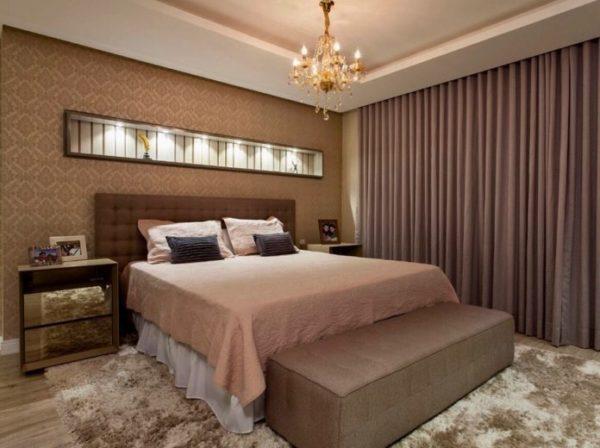 cortinas e persiana para o quarto